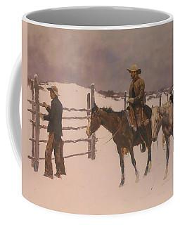 The Fall Of The Cowboy Coffee Mug