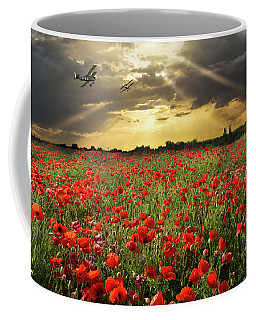 Coffee Mug featuring the photograph The Final Sortie Wwi Version by Gary Eason