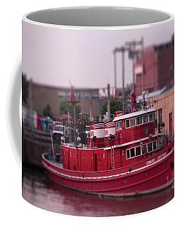 The Fireboat Edward M. Cotter. Coffee Mug
