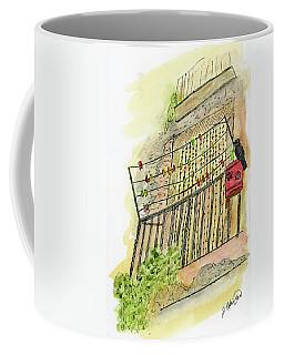The Flat Across The Alley Coffee Mug