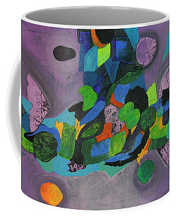 Coffee Mug featuring the painting The Force Of Nature by Mark Jordan
