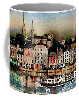 The Galley Off New Ross, Wexford Coffee Mug