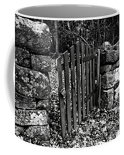Coffee Mug featuring the photograph The Garden Entrance by Mark Jordan