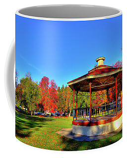Coffee Mug featuring the photograph The Gazebo At Reaney Park by David Patterson