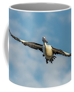 Coffee Mug featuring the photograph The Glider by Chris Cousins