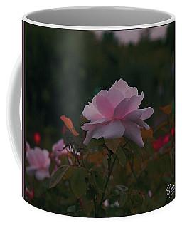 The Glowing Rose Coffee Mug