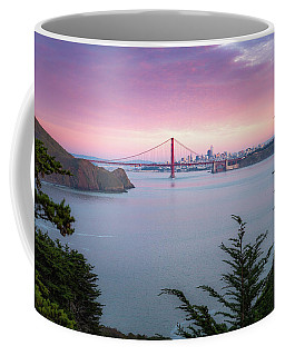 The Golden City  Coffee Mug