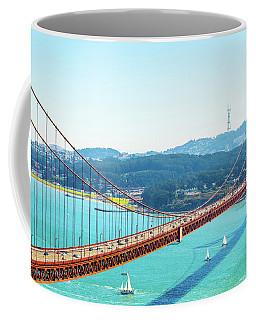 The Golden Gate Bridge I Coffee Mug