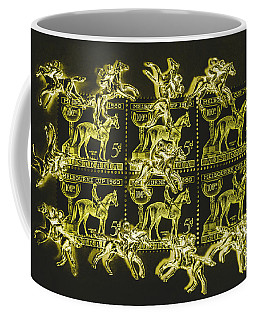 The Golden Race Coffee Mug