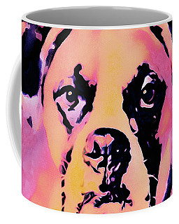 Coffee Mug featuring the mixed media The Good Girl by Susan Maxwell Schmidt