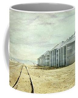 The Grain Bins At Taber Coffee Mug