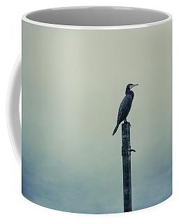 Coffee Mug featuring the photograph The Great Cormorant by Jaroslav Buna