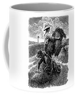 The Harvesters - Bw Coffee Mug