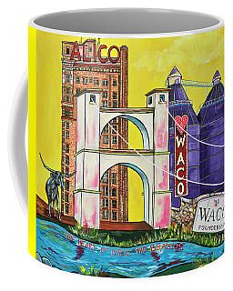 The Heart Of Waco Coffee Mug