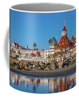 The Hotel Del Coronado San Diego Coffee Mug