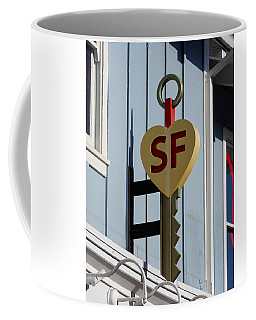 The Key To San Francisco Coffee Mug