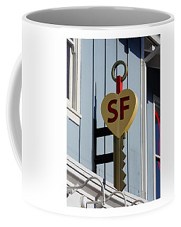 The Key To San Francisco Coffee Mug
