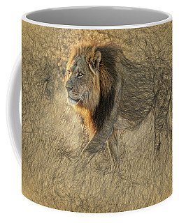 The King Stalks Coffee Mug