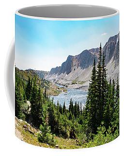 The Lakes Of Medicine Bow Peak Coffee Mug