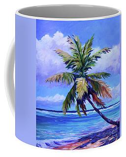 The Leaning Palm Coffee Mug