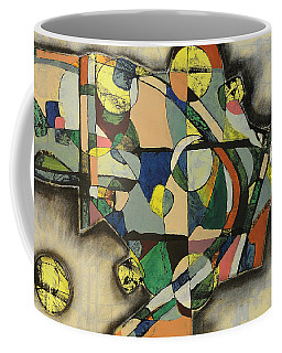 Coffee Mug featuring the painting The Life Of Turf by Mark Jordan