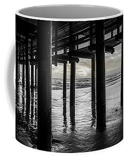 The Light Downunder - B And W Coffee Mug
