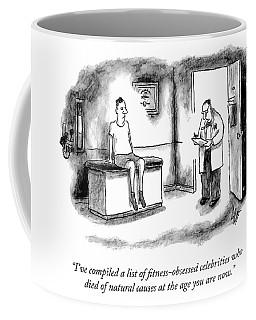 The List Coffee Mug