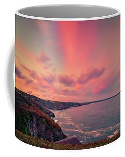 The Lizard Point Sunset Coffee Mug