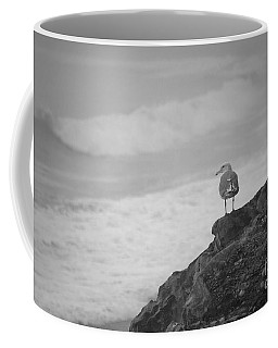 Coffee Mug featuring the photograph The Lone Gull by Jeni Gray