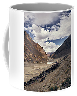 Coffee Mug featuring the photograph The Long Journey by Whitney Goodey