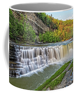 The Lower Falls At Letchworth State Park Coffee Mug