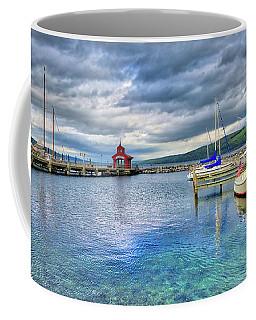 Coffee Mug featuring the photograph The Marina At Seneca Lake - Finger Lakes, New York by Lynn Bauer