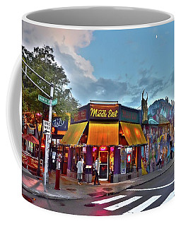 The Middle East In Cambridge Central Square Dusk Coffee Mug