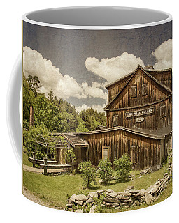 Coffee Mug featuring the photograph The Mill Tavern by Guy Whiteley