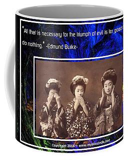The Mystic Circle Inspirational Series One Five Coffee Mug