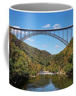The New River Gorge Bridge Coffee Mug