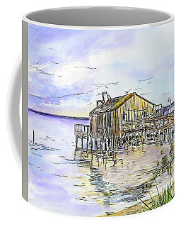 The Old Fishing Shack Coffee Mug