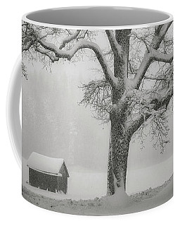 Coffee Mug featuring the photograph The Old Oak by Edmund Nagele
