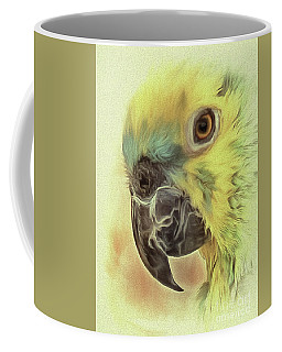 Coffee Mug featuring the photograph The Parrot Sketch by Leigh Kemp