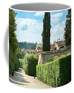 The Paths Of The Gardens Coffee Mug