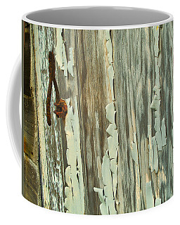 The Peeling Wall Coffee Mug