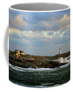 The Peggy's Cove Seascape Coffee Mug