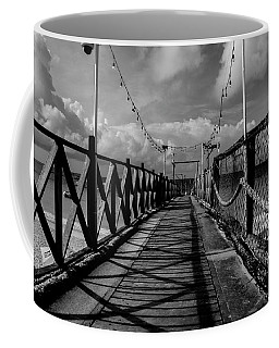 Coffee Mug featuring the photograph The Pier #2 by Stuart Manning