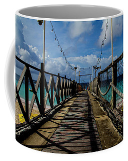 Coffee Mug featuring the photograph The Pier #3 by Stuart Manning