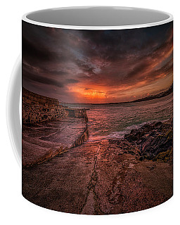 The Pier Sunset Coffee Mug