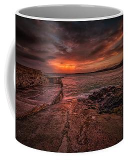 The Pier Sunset Coffee Mug