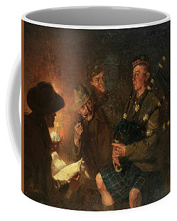 The Pipes By Firelight Coffee Mug