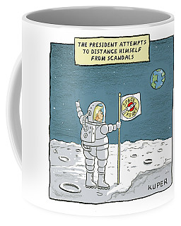 The President Attempts To Distance Himself Coffee Mug