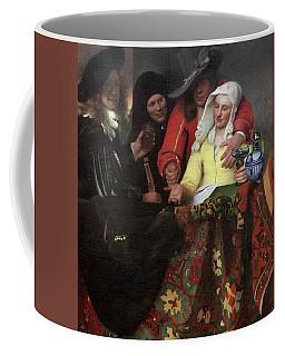 The Procuress, 1656 Coffee Mug