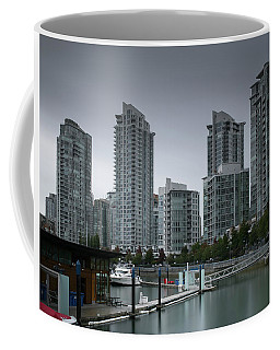 The Quayside Marina - Yaletown Apartments Vancouver Coffee Mug